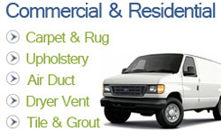 Truckmounted Carpet Cleaning
